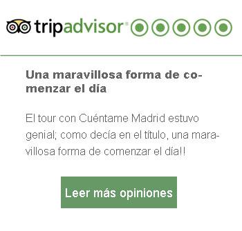 opinion free tour Madrid austrias